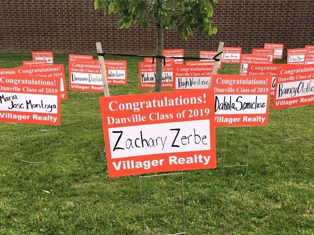 Well Done Danville Grads! Best of Luck!