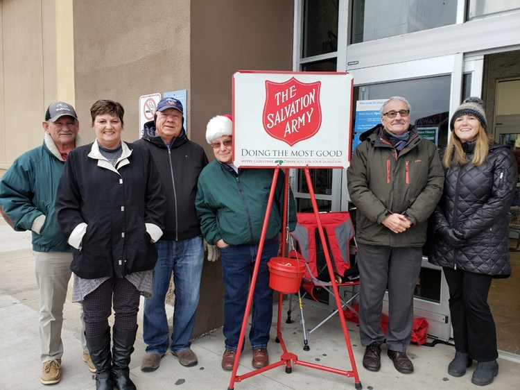 Lewisburg Agents Ring the Bell at Walmart