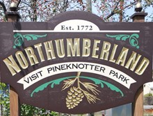 Northumberland Sign